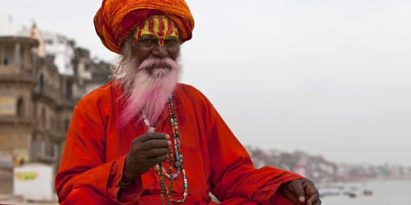 Holy Indian Sadhu